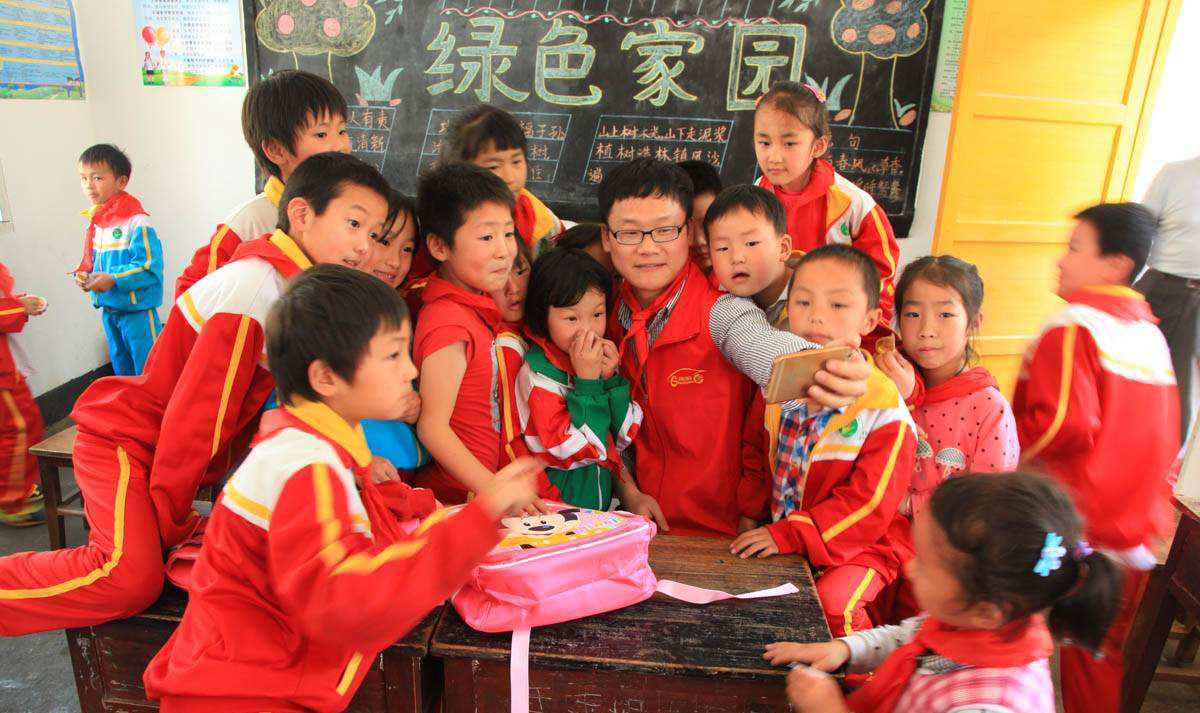 在中国支教让我收获良多