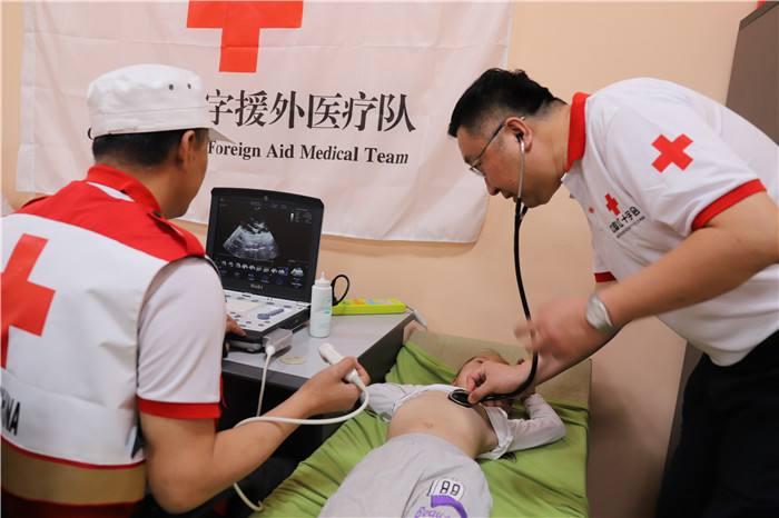 中国红十字援外医疗队在蒙古国开展人道救助行动