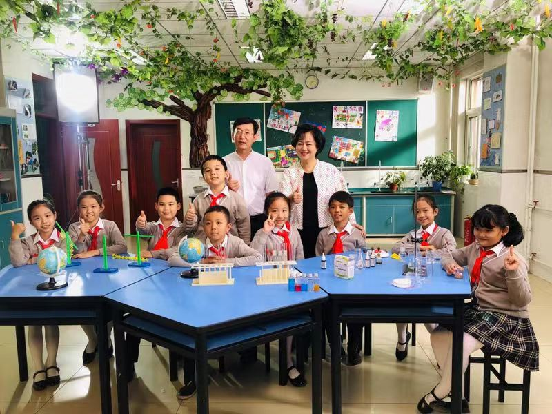 北京小学生拍预防近视公益广告 传播健康理念